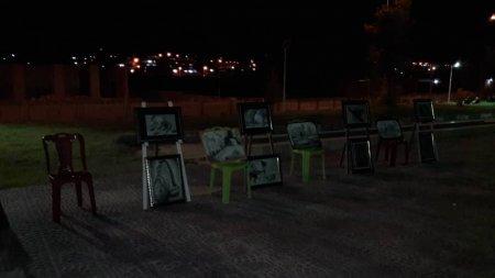 برگزاری اولین نمایشگاه و کارگاه طراحی در شهرستان لنده/تصاویر
