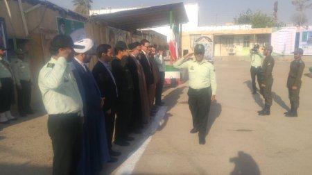 صبحگاه مشترک نیروهای انتظامی و نظامی کهگیلویه برگزار شد/ گزارش تصویری