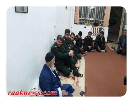 فرمانده جدید سپاه فتح کهگیلویه و بویراحمد با آ میراحمد تقوی دیدار کرد/گزارش تصویری