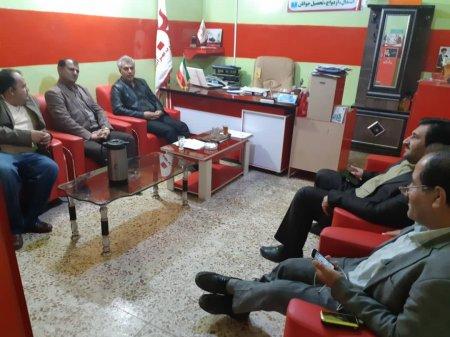 بازدید مدیر کل ورزش وجوانان کهگیلویه وبویراحمد از دفتر مرکزی موسسه قرب مهرایثار/تصاویر