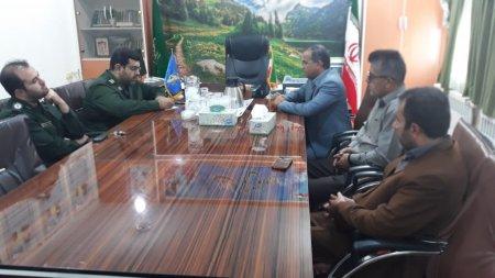 رئیس و کارکنان دانشگاه پیام نور دهدشت با فرمانده ناحیه مقاومت بسیج کهگیلویه دیدار کردند/تصاویر