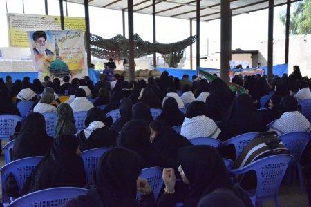 گزارش تصویری از مراسم افتتاحیه اردوهای راهیان نور دانش آموزی استان  در چرام