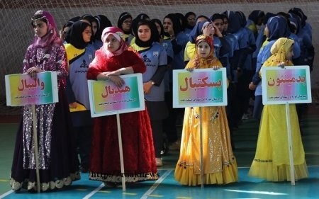 گزارش تصویری:افتتاح ششمین المپیاد درون مدرسه ای در گچساران