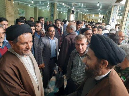 مراسم گراميداشت حماسه 9 دي در شهر دهدشت برگزار شد/تصاویر