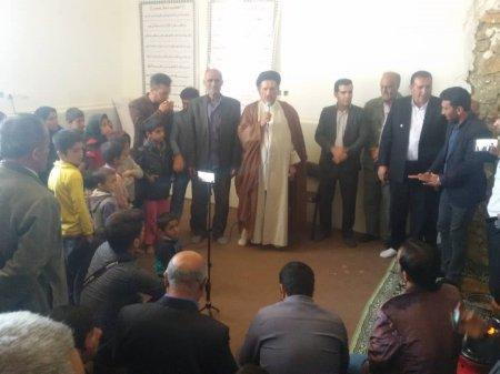 استقبال مردم فهیم دیشموک از سید محمد موحد ادامه دارد/گزارش لحظه به لحظه تصویری