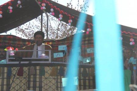 گزارش تصویری از استقبال بی سابقه مردم دیشموک از سید محمد موحد