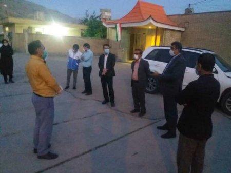 بازدید معاون بهداشتی دانشگاه و معاون اجرایی معاونت بهداشتی از شهرستان چرام/تصاویر