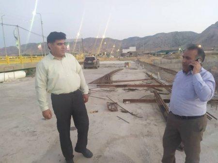 بازدید مدیرکل راهداری و حمل و نقل جاده ای کهگیلویه و بویراحمد از پروژه های در دست اجرای شهرستان  باشت/تصاویر