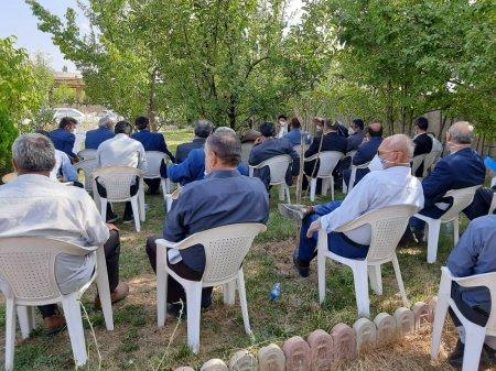 نشست صمیمی نماینده مردم کهگیلویه بزرگ با بازنشتگان نیروهای مسلح برگزار شد/تصاویر