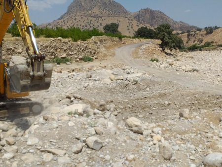 آغاز عملیات اجرایی احداث پل عمارت کهگیلویه با اعتبار 15 میلیارد ریال/تصاویر