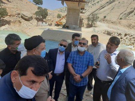 گزارش تصویری از بازدید نماینده مردم کهگیلویه بزرگ در مجلس شورای اسلامی از جاده پاتاوه-دهدشت