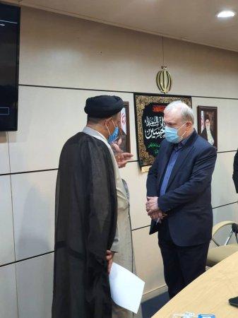 دیدار نماینده مردم کهگیلویه بزرگ در مجلس شورای اسلامی با وزیر بهداشت و درمان