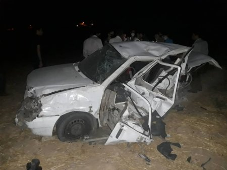 تصادف وحشتناک در جاده سوق-دهدشت+تصاویر