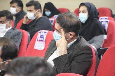 گزارش تصویری از جلسه کارگروه شهرستان کهگیلویه با حضور معاون وزیر کار و حجت الاسلام موحد