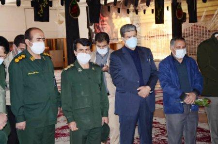 تجدید میثاق با شهدا در اولین روز کاری رئیس سازمان نظام مهندسی ساختمان استان کهگیلویه و بویراحمد/تصاویر
