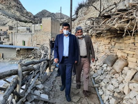 بازدید فرماندار گچساران از روستاهای شهرستان