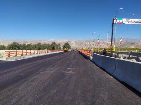 خدمتی بزرگ از مجموعه راهداری استان؛ پل بزرگ شهید کلانتری باشت زیر بار ترافیک رفت/تصاویر