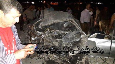 تصادف مرگبار برای هواداران  یک کاندیدا در حوزه ی ممسنی و رستم+تصاویر