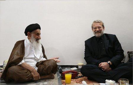 دیدار دکتر لاریجانی با حجت الاسلام والمسلمین میراحمد تقوی +گزارش تصویری
