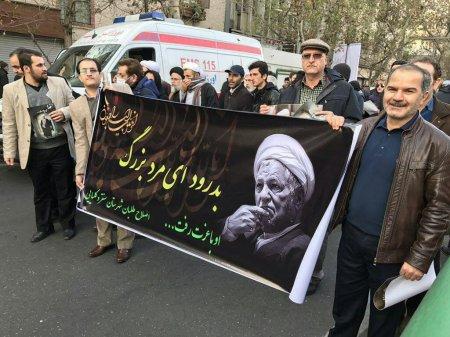گزارش لحظه به لحظه مراسم وداع با آیت الله هاشمی رفسنجانی+تصاویر